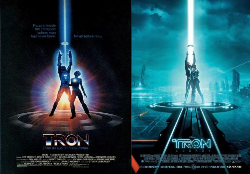 Tron 1982 to 2010 .2 by fuckiller