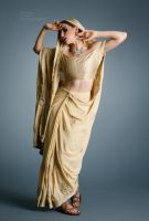 Saree - 2 by mjranum-stock