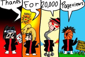 The Akatsuki Thank You for 20K by BloodlustBakura