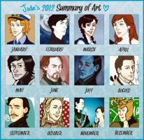 Jade's 2012 Summary of Art! by VincentChan