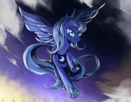 Princess Luna by Deyamiro