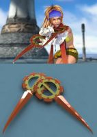 --FFX-2-- Rikku's weapons by Ro-Bo