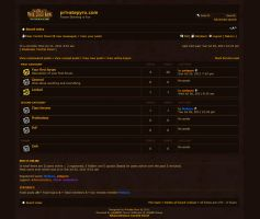 Warcraft PHPBB Skin by pvtpyro