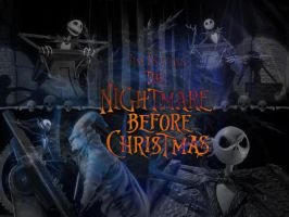 Nightmare Before Christmas by serialkiller07