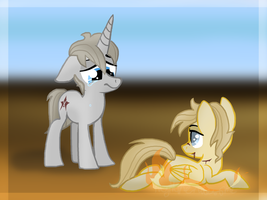 Dise and Fis by MyMineAwesome