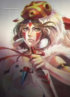 Princess Mononoke by MonoriRogue