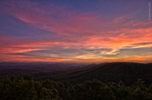Sunset Over the Mountaintops by BettyBoopRox