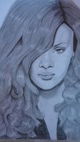Rihanna by Thessa-drawings