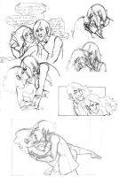 Snape and Hermione Madness by MsCashew