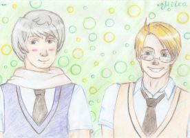 APH: Russia and America by Yume-no-Kamila