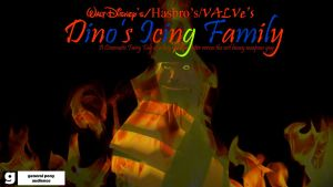 Dino's Icing Family (Film Poster/Evil Style) by KittyGenerator4000