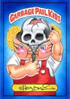 2013 Garbage Pail Kids Series 4 Bony Tony by Chenduz