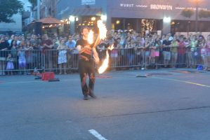 Ignite the Night Fire/Food Fest, Juggling Flames by Miss-Tbones