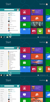 Windows8 startmenu new V2 by PeterRollar