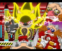 Comm: Sonic and Dr. Eggman - Game Over by BroDogz