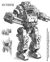 MechWarrior 4 Sunder by Mecha-Zone