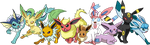 The Eeveelutions by Tails19950