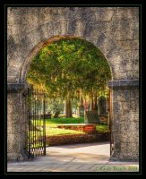 Cemetery Gate by zieora
