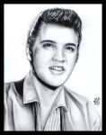 Elvis Presley by tainted-orchid