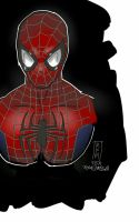 Spidey Quick Sketch by TheAteles