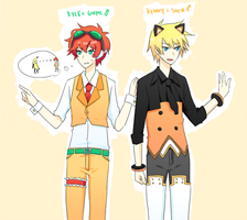 30 Day OTP Challenge: 7) cosplaying by azngirlLH