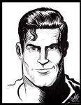 Clint Walker Superman by NickJustus