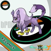 022. Felancy by bromos-pokemon