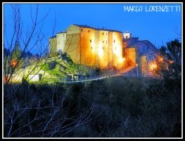 PRECICCHIE DI FABRIANO (AN) - MAGIC AT THE DUSK by MarcoLorenzetti