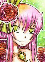 ACEO 9- RosE by VanileCream