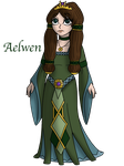 Princess Aelwen (OC) by InkRose98