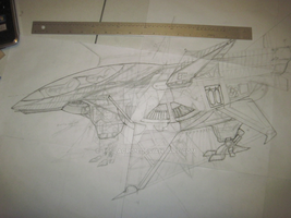 Decepticon One, Concept Drawing One. by Teslacron