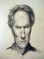 Mr Eastwood WIP by michaeldaviniart