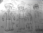 Sketch: Character Redesigning by TimeboundGame