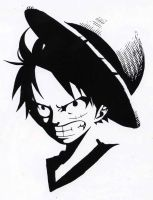 Monkey D. Luffy -Original Pic- by jafet446