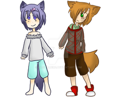 Wolf Children Adopts [2/2] (open) by AgenderedKing
