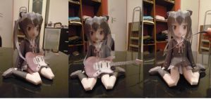 Papercraft Azusa K-on by Rika-strife