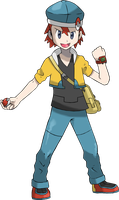 Pokemon trainer Topaz by icaro382