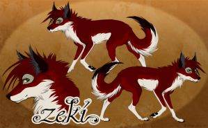Zeki Reference Sheet by Plaguedog