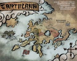 Mapa Fairy Tail by pantuk