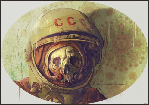 Cosmonaut by bradwright