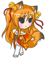 Kitsune Adoptable Auction {Closed} by Daine-Hime