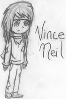 Vince Neil by Chillachin