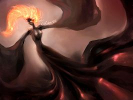 Fire Lady by Alkven