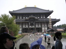 Todaiji Temple by jueru2003