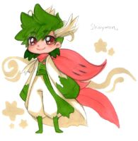 Pokejinka time! Shaymin by Moonzetter