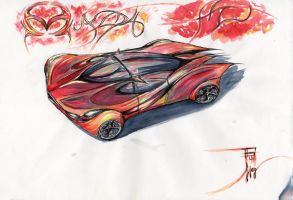 mazda element 4: fire by fjagcars