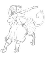Stream- fancy centaur by Lilly-moo