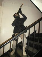 MW2 Ghost Unfinished Cosplay 2 by TCClone