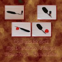 Quill and Ink set2 by Wicasa-stock