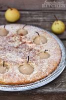 Rustic pear cake by kupenska